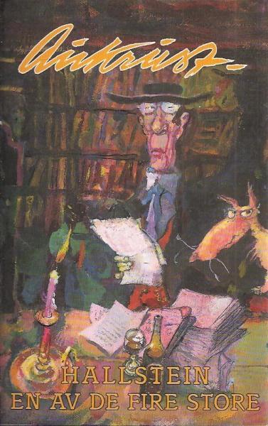 Bilde fra bok omslag Kjell Aukrust: Hallstein - en av de fire store. Cappelen 1997